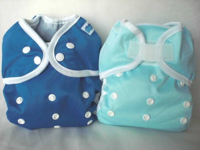 Kawaii Baby Diaper Cover Group Velcro and Snaps