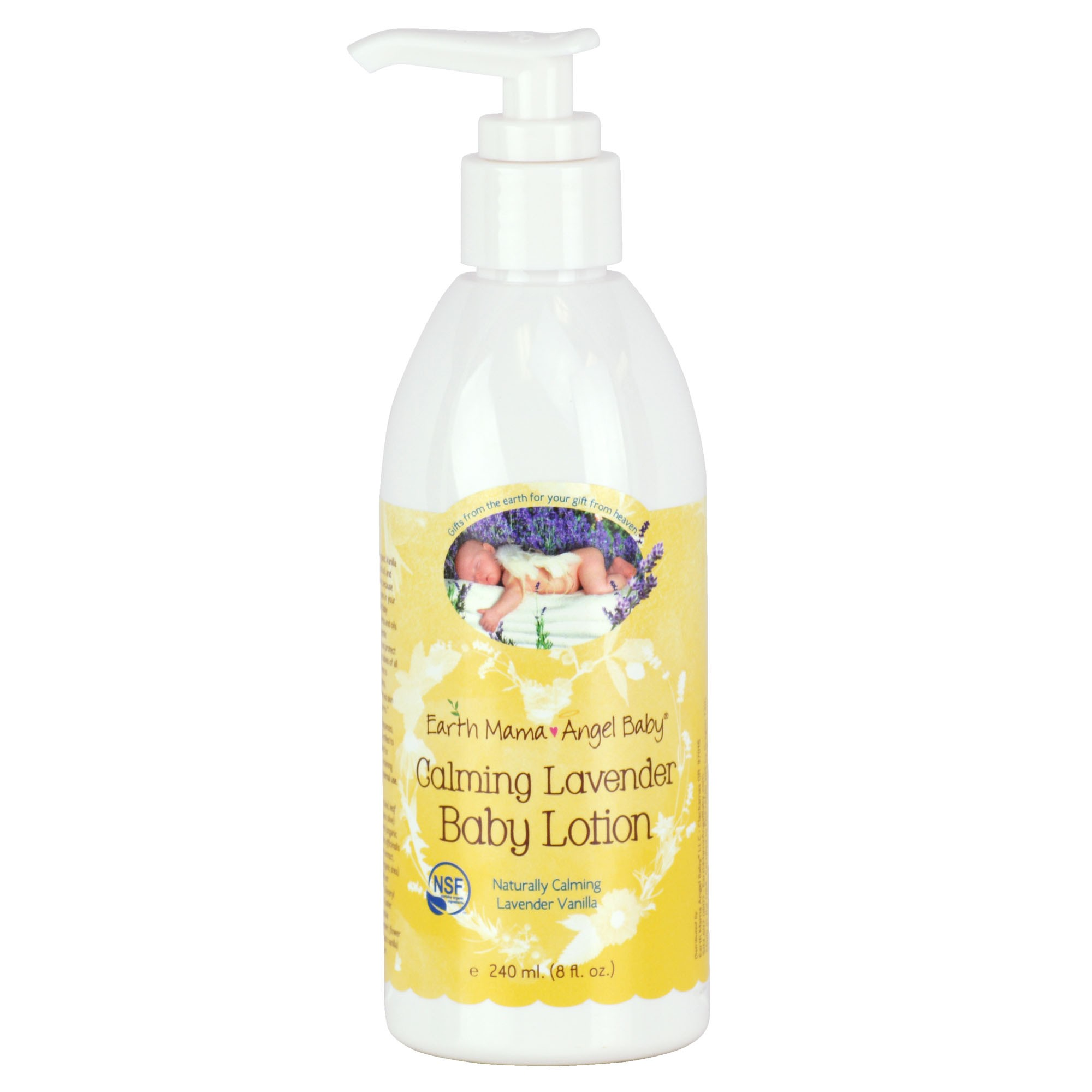 Calming Lavender Baby Lotion 8oz