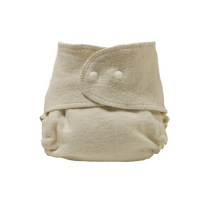 Organic hemp fitted diapers