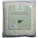 Organic Quilted Mattress Pad