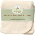 Organic thermal baby blanket