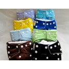 Kawaii Ultra Soft One Size Snap Diaper Group