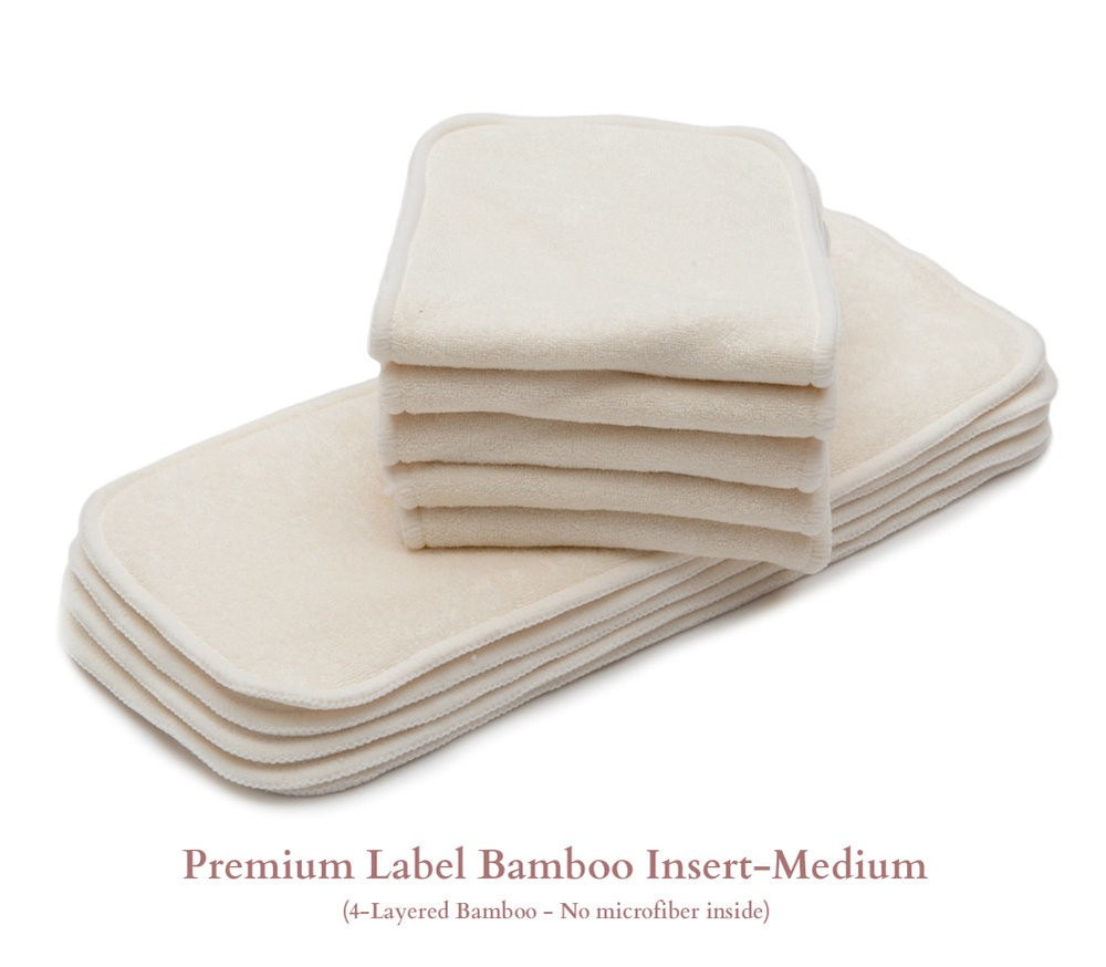 Bamboo Cloth Diaper Inserts