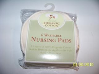 organic cotton nursing pads