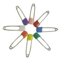 plastic headed diaper pins