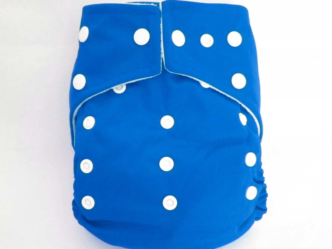 Kawaii Ultra Soft One Size Snap Diaper Saphire